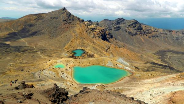 Emerald lakes - NP Tongariro