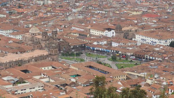 View from Cristo Blanco - Cusco