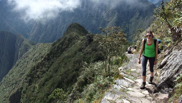 Hike to Machu Picchu mountain