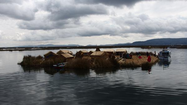 The Uros Floating Islands - Lake Titicaca