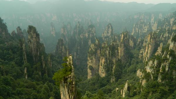 Zhangjiajie - so called Avatar Mountains