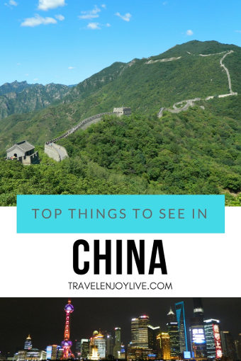 top things to see in china