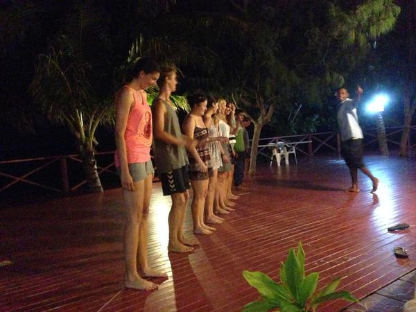 Evening programme in our resort