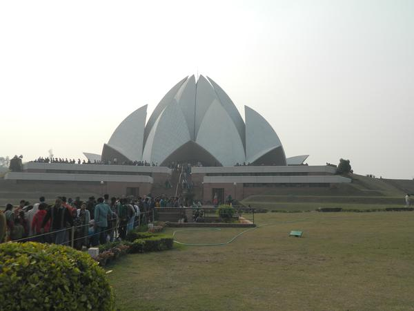 The Lotus Temple - Delhi