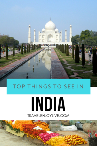 top things to see in india