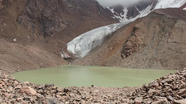 Lake nr. 6. - Trekking in Tian Shan