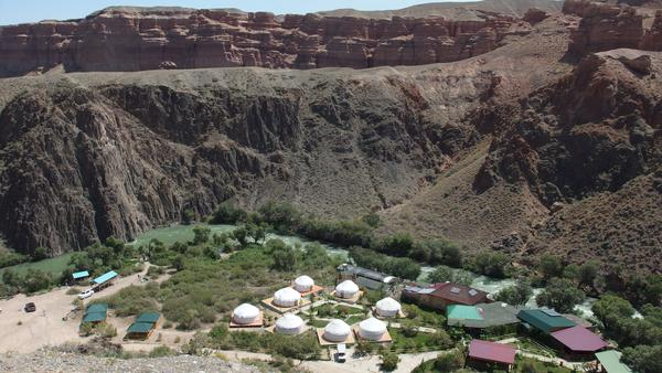Where to stay in Charyn Canyon