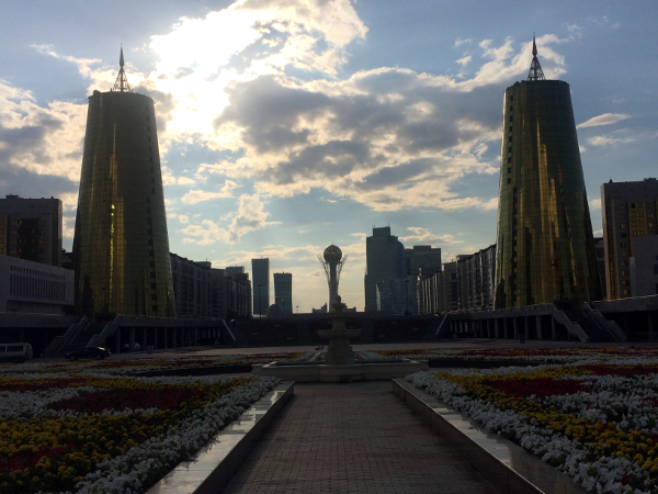 The Bayterek Tower - Astana