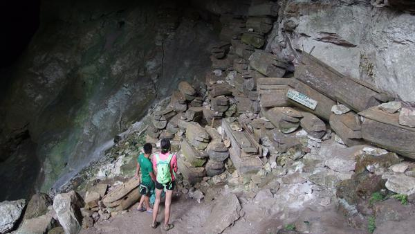 The Sumagging Cave - Sagada