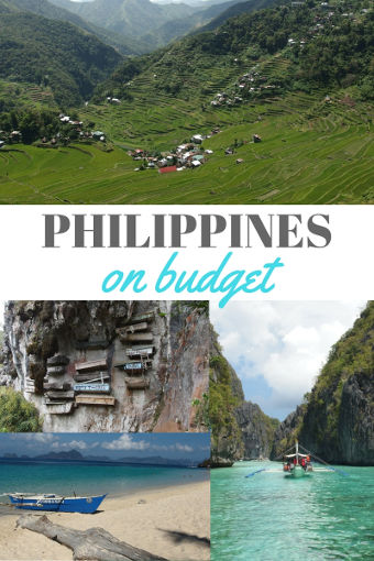 philippines on budget