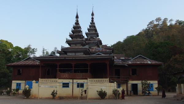 Buddhist Monastery - Trek from Kalaw to Inle Lake