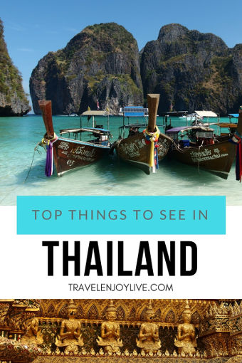 top things to see in thailand